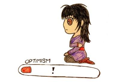 Optimism Bar Empty